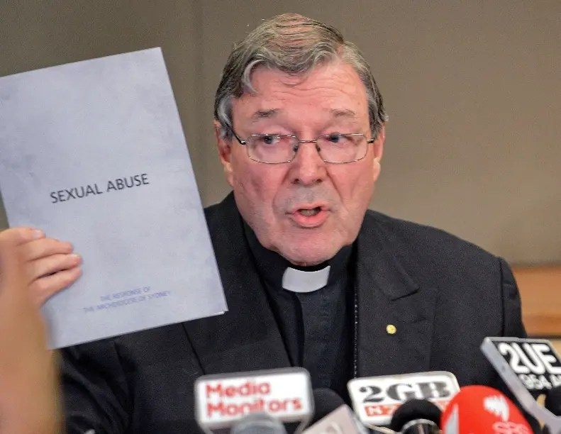 El cardenal George Pell está citado  por la justicia el 18 de julio.