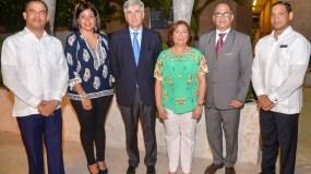 César Güílamo Montilla, Katiuska Méndez, Ventura Serra, Rosario Sangiovanni, Genaro Santos y Anderson Silverio.