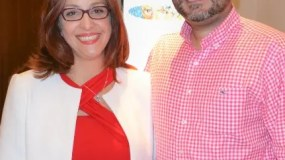 Regina Marranzini y Gerardo Vásquez.