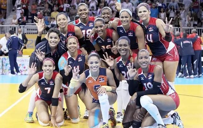 Cuba ante Dominicana en Copa Panamericana de voleibol