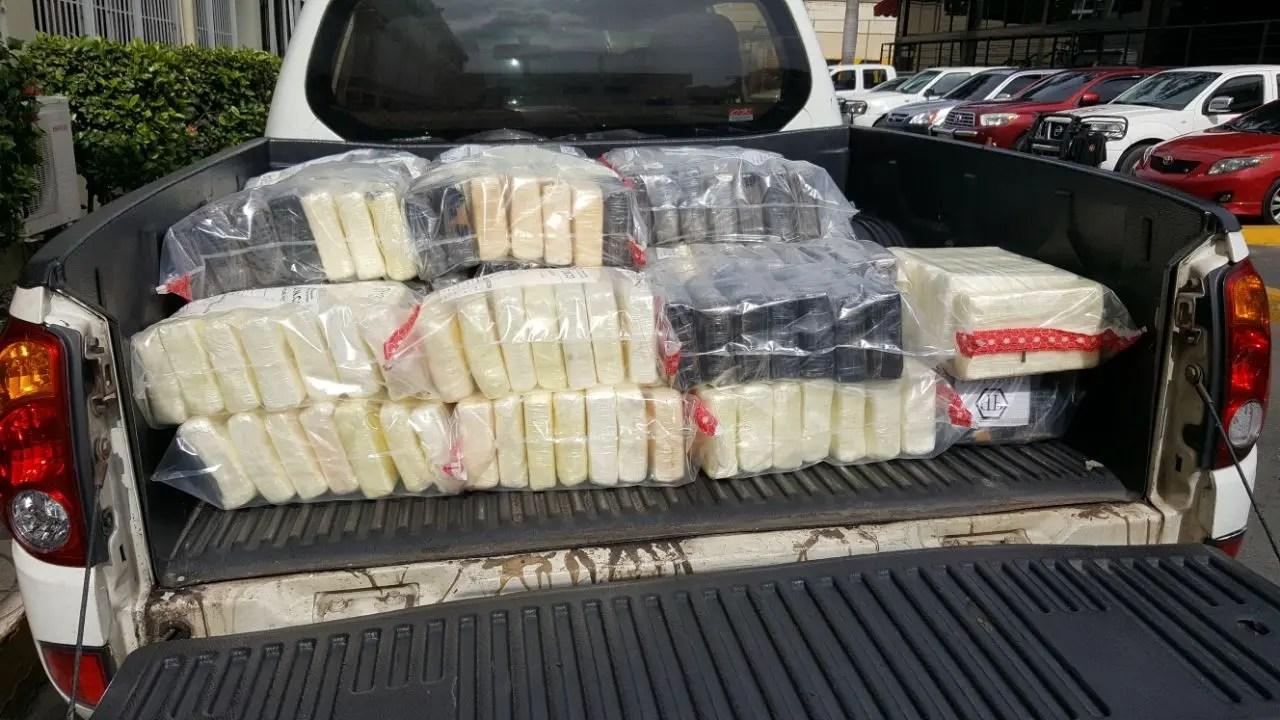 La DNCD decomisa 341 paquetes presumiblemente de cocaína en el Puerto Caucedo