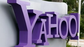 SUNNYVALE, CA - JULY 17:  The Yahoo logo is displayed in front of the Yahoo headqarters on July 17, 2012 in Sunnyvale, California.  Yahoo will report Q2 earnings one day after former Google executive Marissa Mayer was named as the new CEO. Photo by Justin Sullivan/Getty Images)