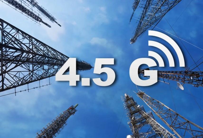 Claro sostiene que su red 4.5 G mejora la transmisión de datos y la cobertura móvil.