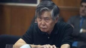 Alberto Fujimori tiene una  historia médica con  seis operaciones.