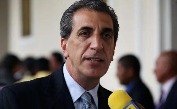 Biagio Pilieri, diputado del grupo parlamentario opositor 16 de Julio.
