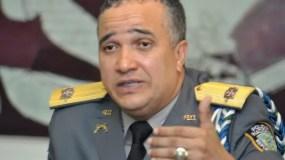 Ney Aldrin Bautista, director de la Policía.  archivo