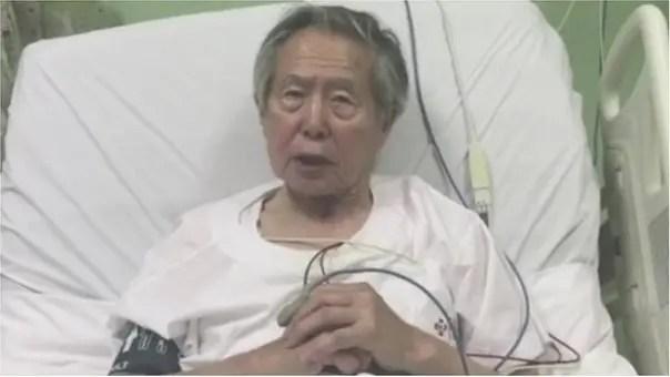 """Alberto Fujimori pidió """"perdón"""" por haber """"defraudado"""" a una parte de sus compatriotas"""