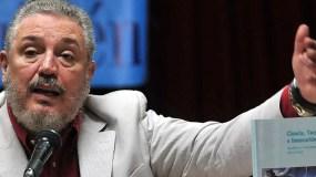 Fidel Castro Díaz-Balart era muy conocido en la isla.