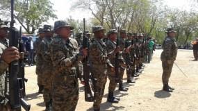 Los nuevos efectivos fueron entrenados para vigilar frontera.