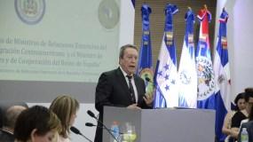 Intervención del Secretario General del SICA, Vinicio Cerezo, reunión de los Ministro de Relaciones Exteriores del SICA y el Ministro de Asuntos Exteriores y Cooperación del Reino de España.