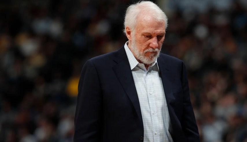 Gregg Popovich ha dirigido a los Spurs desde 1996. AP