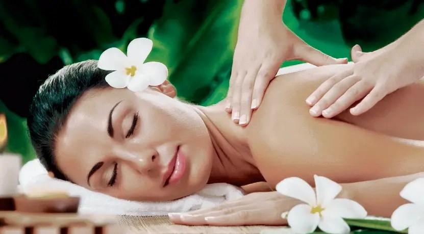 El masaje facilita que el organismo  se equilibre. fuente externa