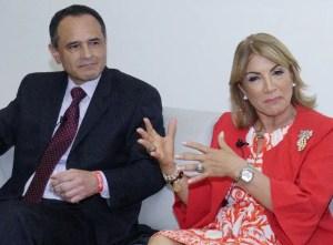 Juan Carlos Rodríguez y Mónica Ramírez.