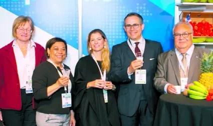 Martina Viol, Guisell Morales,  Natalia María Federighi, Federico Cuello  y  Romero Martínez.