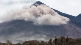 La erupción del volcán de Fuego en Guatemala,  ha dejado al menos 109 muertos.