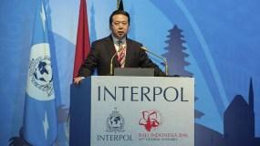En un comunicado, Interpol dijo que estaba al tanto de los informes sobre la desaparición de Meng.