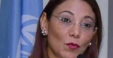 Alma Morales Salinas, representante de OPS.