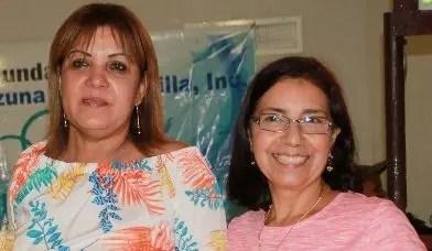 Rosanna González de Zorrilla encabezó la actividad.