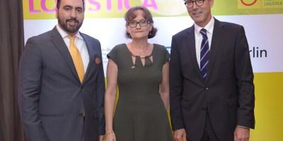 Alejandro Alonso, Frauke Pfaff y Volker Pellet.