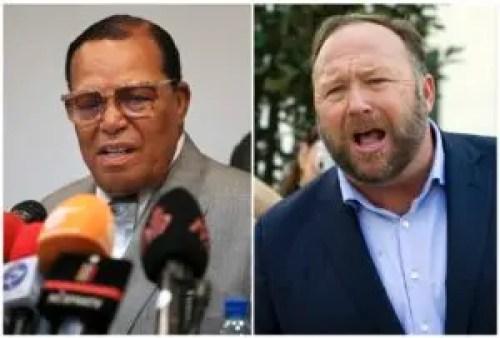 Louis Farrakhan, y Alex Jones han sido vetados por Facebook por considerar que tienen un  discurso promotor del odio y la violencia.