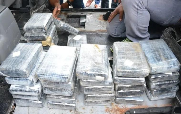 Tribunal dicta 18 meses de prisión a hombre apresado con 91 kilos de cocaína