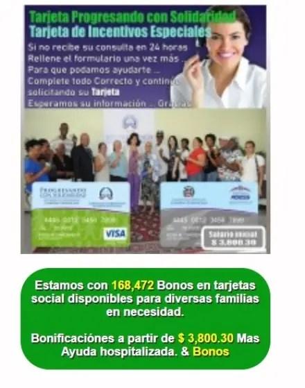 Vicepresidencia alerta estafadores ofrecen tarjetas Progresando con Solidaridad y Subsidios Especiales
