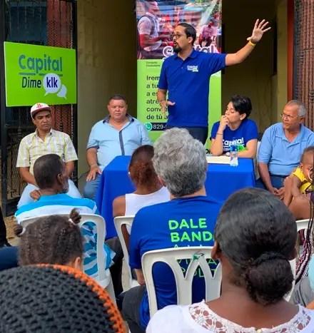 Bartolomé Pujals encabeza consulta ciudadana en el sector Mejoramiento Social