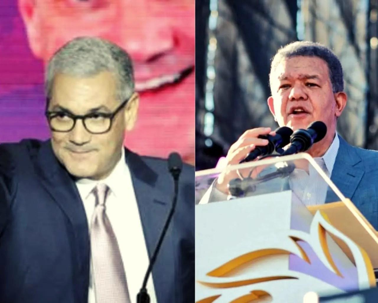 Leonel Fernández y Gonzalo Castillo en busca de fondos para la campaña electoral