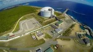 La terminal de gas natural de AES ha sido un modelo para otros países de la región.