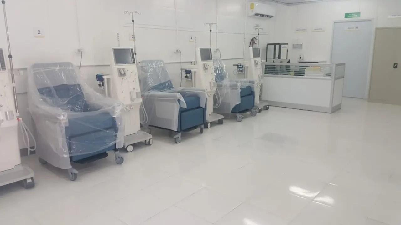 SNS inaugura unidad de hemodiálisis en hospital Luis Morillo King de La Vega