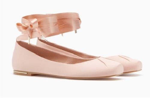 Zara Nuevos De Los Stradivarius Diablo El Axhtoqwx Zapatos Planos MpUzVqS
