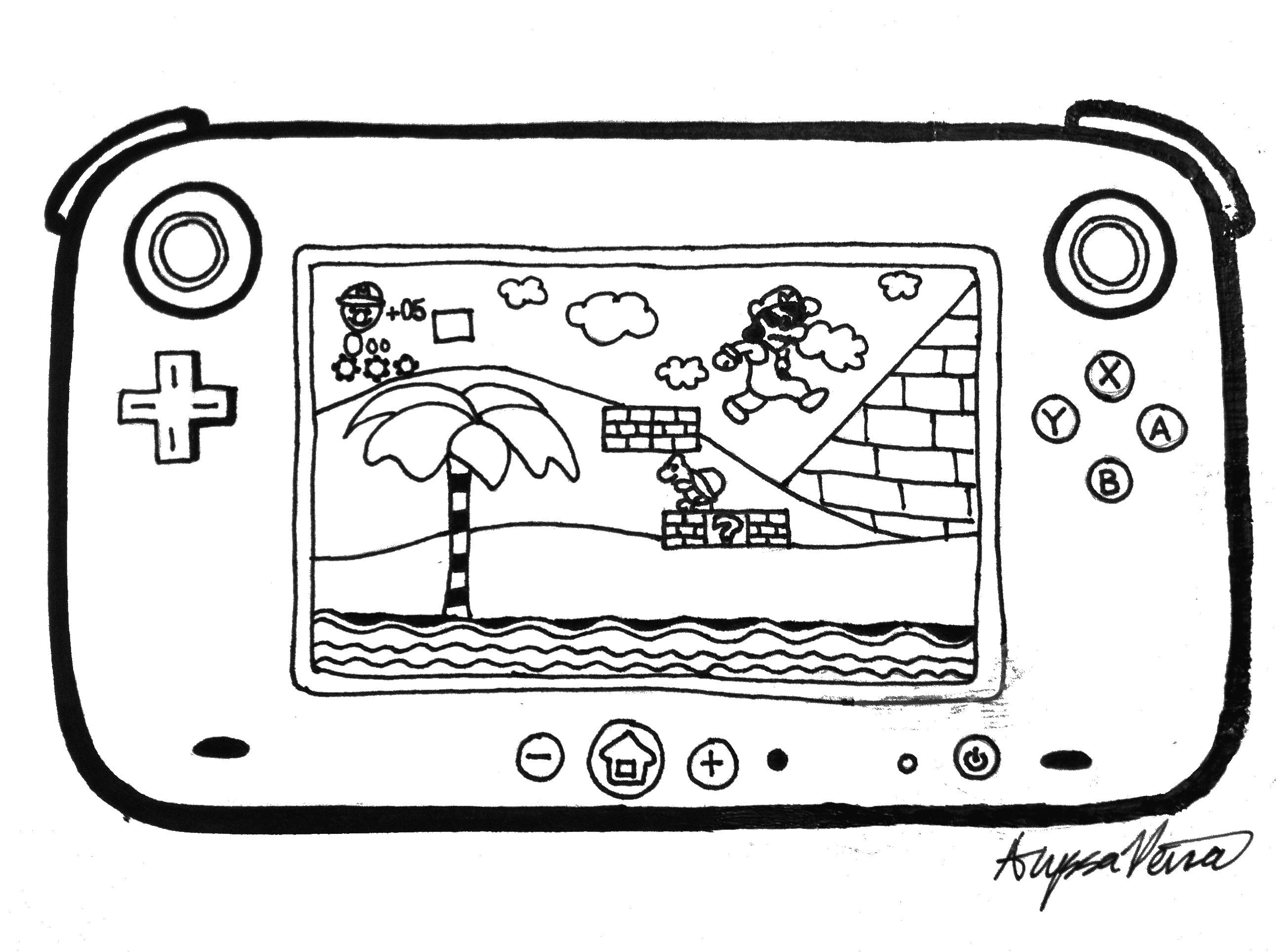 Wii U By Nintendo
