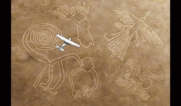 ¿Quién descubrió las líneas de Nazca?