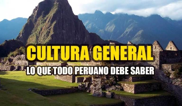 Lo que todo peruano debe saber – 30 preguntas y respuestas de cultura general