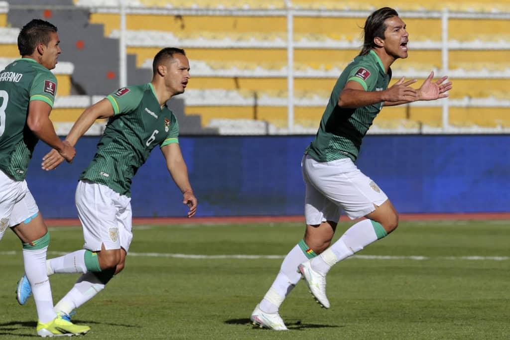Así transcurre el partido entre la Vinotinto y Bolivia