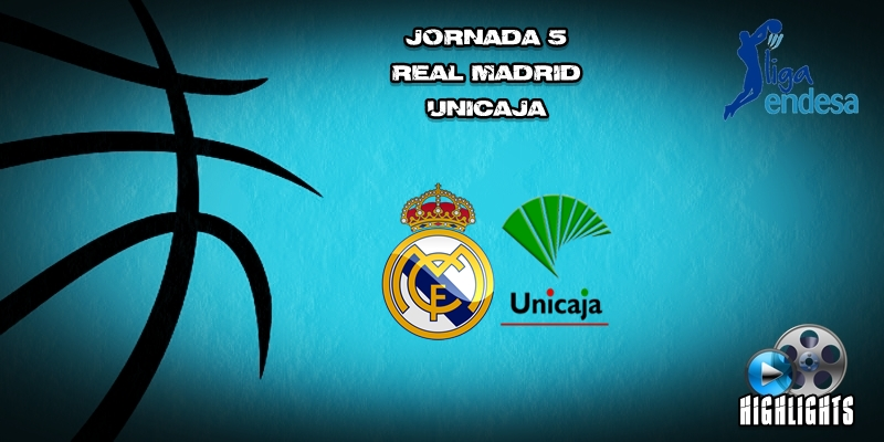 VÍDEO | Highlights | Real Madrid vs Unicaja | Liga Endesa | Jornada 5