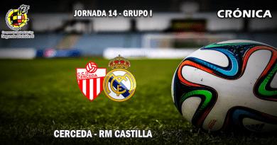 CRÓNICA   El Castilla revive y se aleja de la zona de peligro: Cerceda 0 – 2 RM Castilla