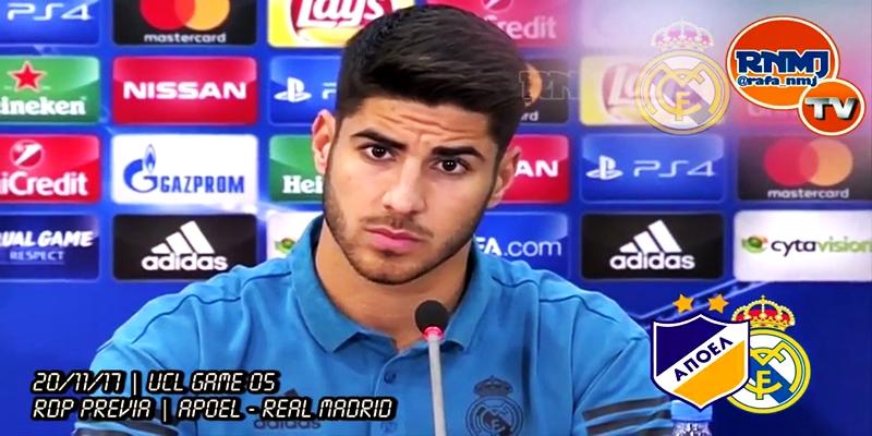 VÍDEO | Rueda de prensa de Marco Asensio previa al partido ante el Apoel