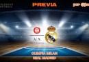 PREVIA | Olimpia Milan vs Real Madrid: El Milan reta al Madrid