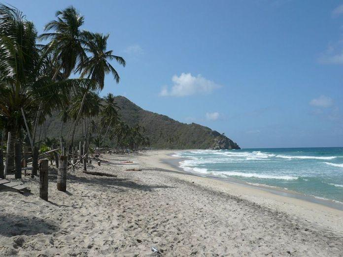 Vista de la Playa de Cuyagua