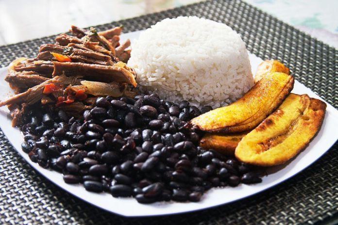 El pabellón criollo, nuestro plato nacional.