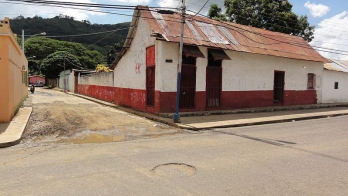 Calle Bolívar de Valle Guanape