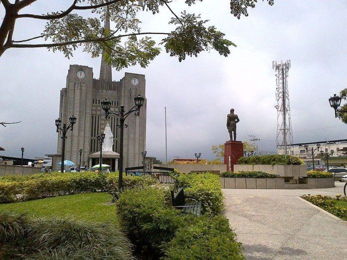 Plaza Bolívar de La Azulita