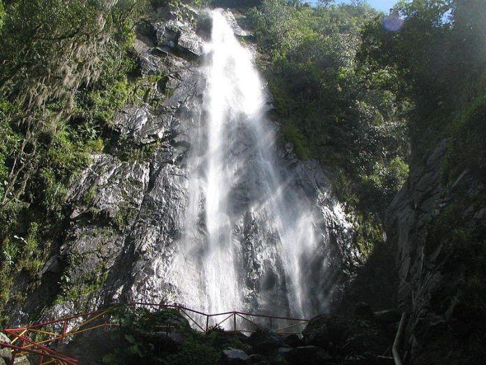 Cascada India Carú en Bailadores