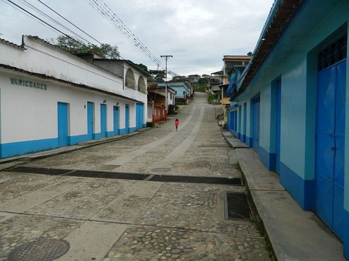 Calle de Calderas, uno de los más bellos pueblos del estado Barinas