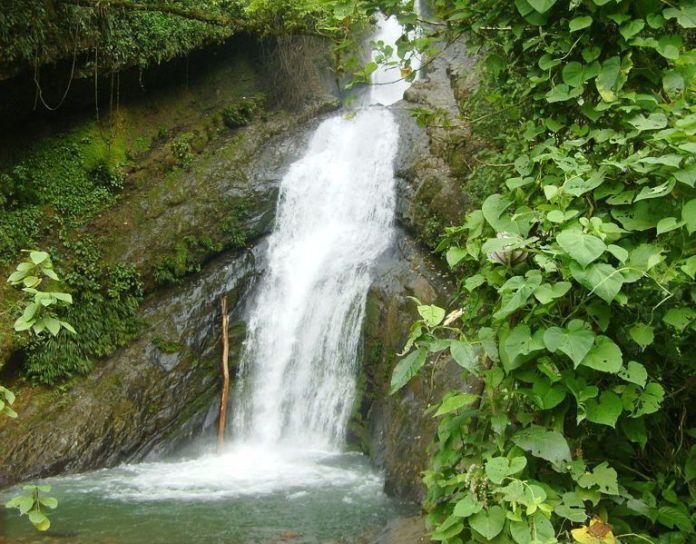 Cascada de Las Monjas en Calderas, uno de los pueblos de Barinas