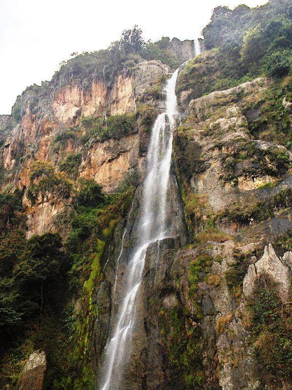Cascada del Vino, en las cercanías de Barabacoas
