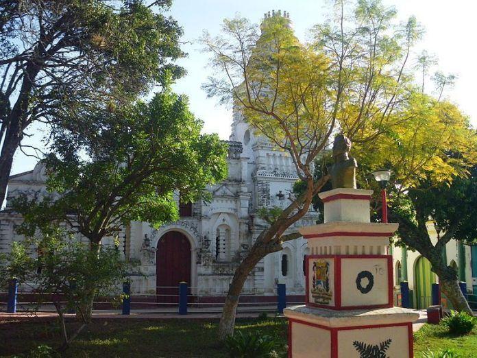 La Plaza Bolívar de Barbacoas
