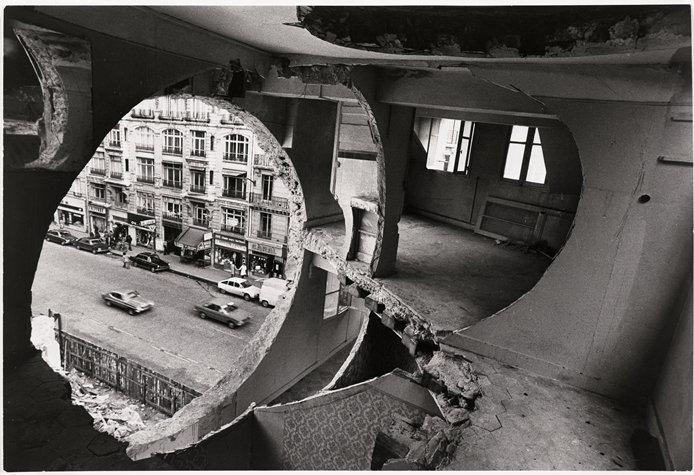Desnudar la Arquitectura. Gordon Matta-Clarck.