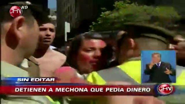 Mechona detenida: el abuso de poder y descriterio de nuestra fuerza pública.
